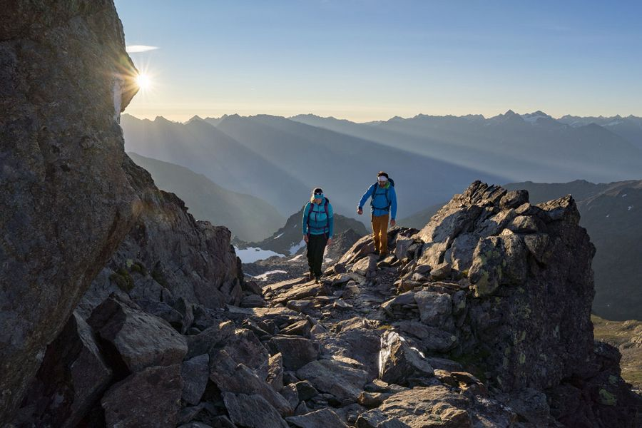 Wandern im Tal der Dreitausender