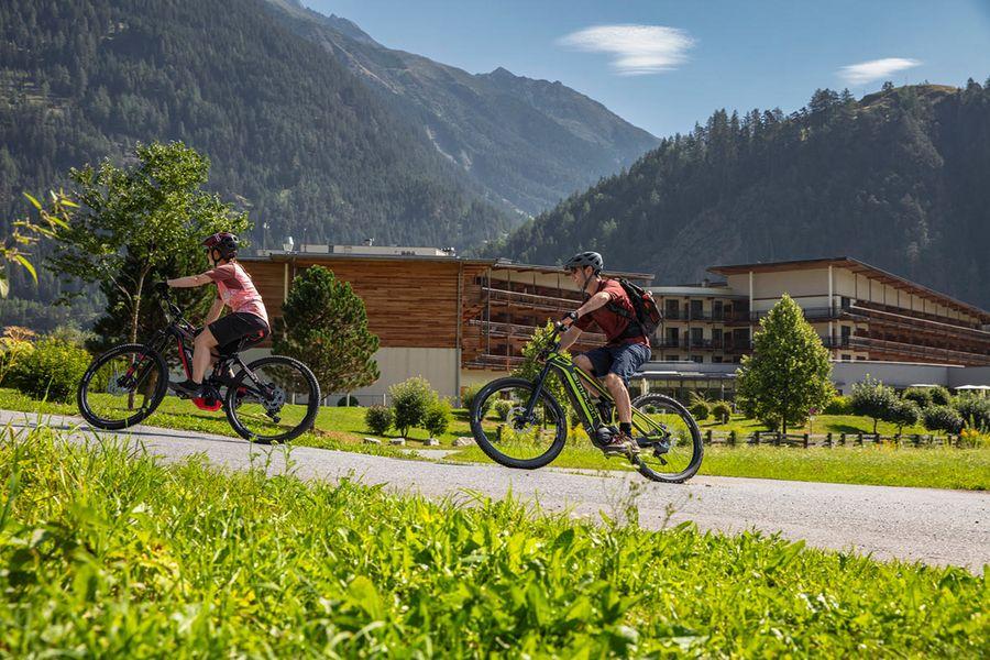 Bikeurlaub im Alpenchalet Tirol